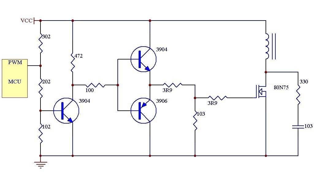 mos管驱动电路应用案例